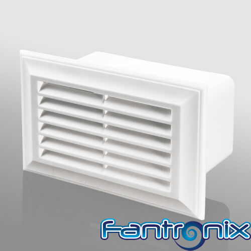 Rectangular Duct Fan : Cooker hood extractor ducting grille heat recovery fan