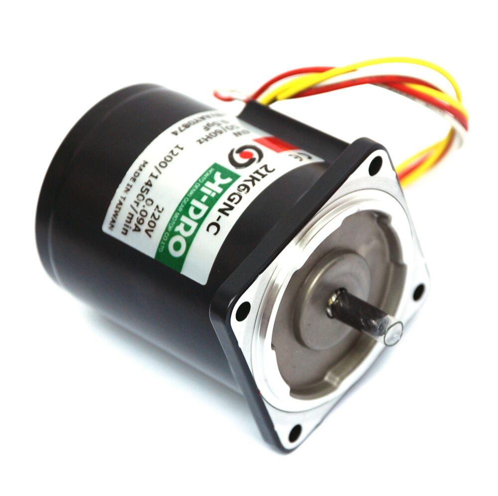 1 Ac Induction Gear Motor Ac220v 50 60hz 1 6w 2ik6gn C