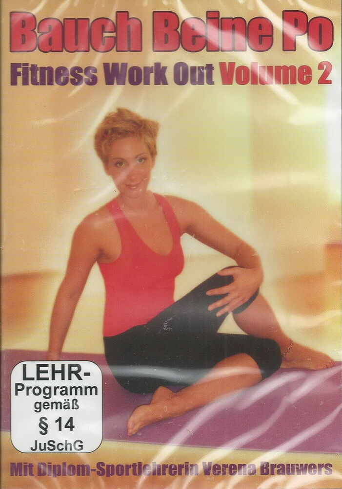 dvd bauch beine po fitness workout vol 2 bungen training k rper ebay. Black Bedroom Furniture Sets. Home Design Ideas