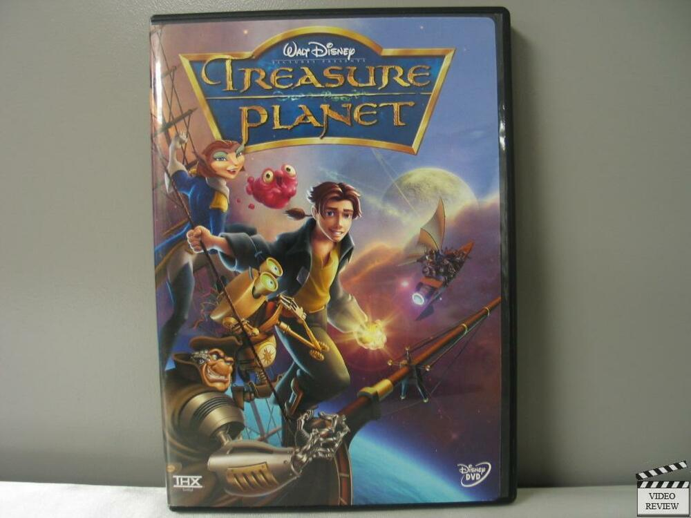 treasure planet dvd - 1000×750