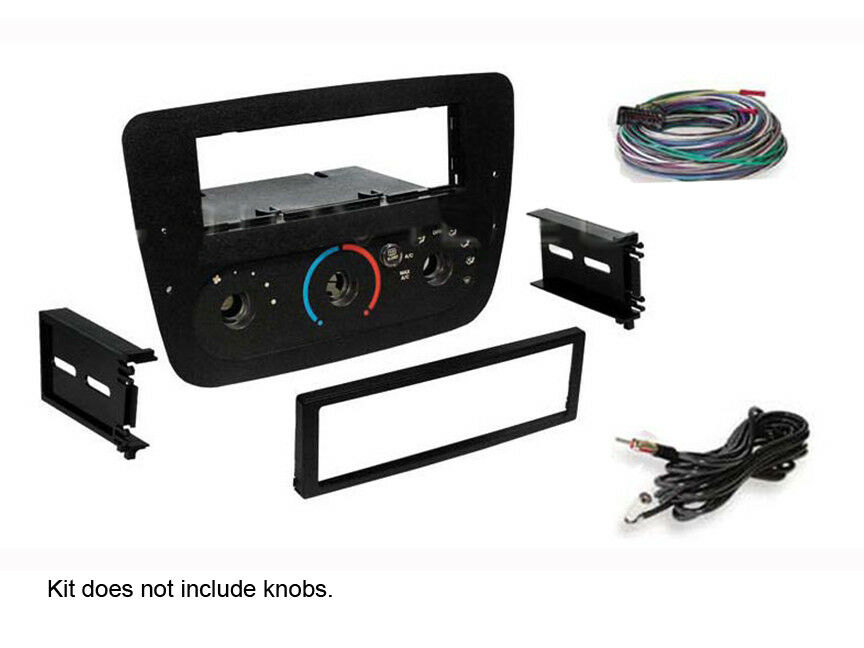 ford taurus 2000 2006 stereo radio install dash kit wire harness 2001 2002 2003 ebay
