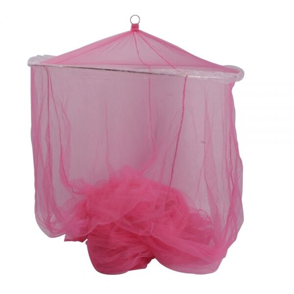 Hot Pink Princess Girls Bed Canopy Mosquito Net Netting