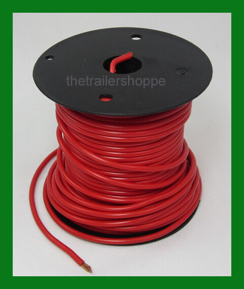 Trailer light cable wiring harness gauge wire roll