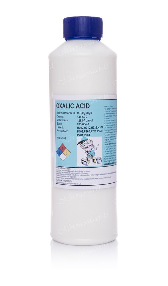 1kg oxalic acid hull deck grp cleaner rust remover ebay for Patio cleaning solution