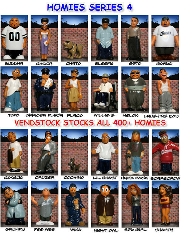 HOMIES SERIES 4 NEW RETIRED MINI FIGURE YOU PICK ONE THE ...