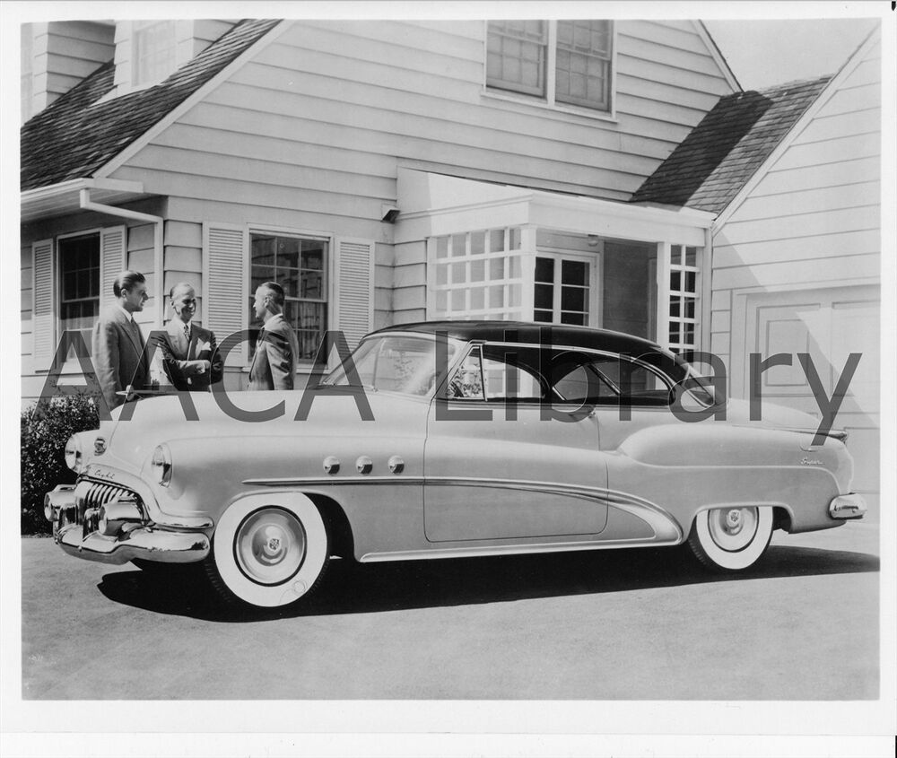 1952 buick model 56r super 2 door riviera factory photo for 1955 buick riviera 56r super 2 door hardtop