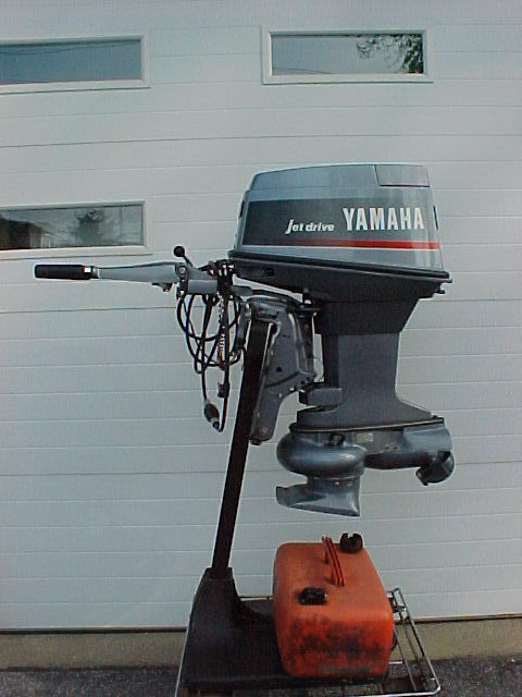 yamaha outboard motor 50 hp jet drive 1992 very good