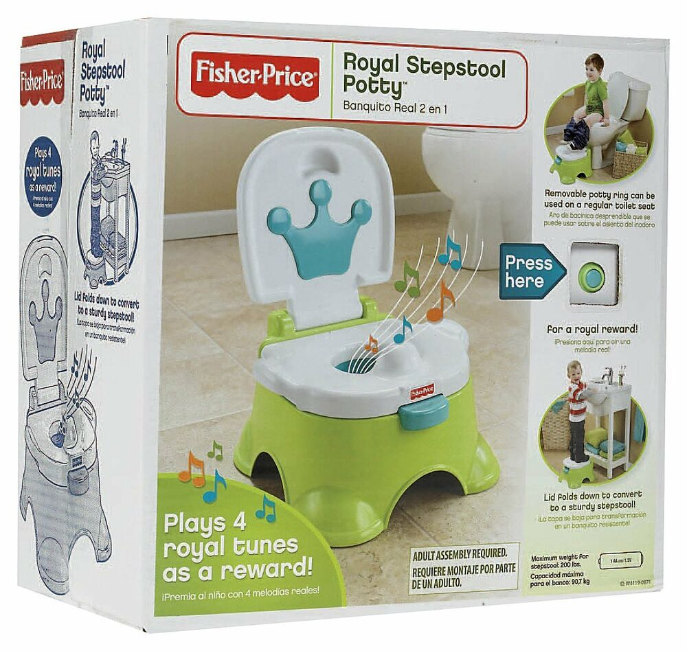 Fisher Price Royal Prince Learning Potty Training Toilet