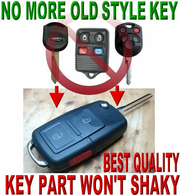 flip key remote for ford f150 f250 edge 40bit transponder. Black Bedroom Furniture Sets. Home Design Ideas