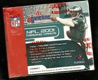 2001 FLEER  GAMETIME FOOTBALL FACTORY SEALED HOBBY BOX  ? DREW BREES ROOKIE CARD
