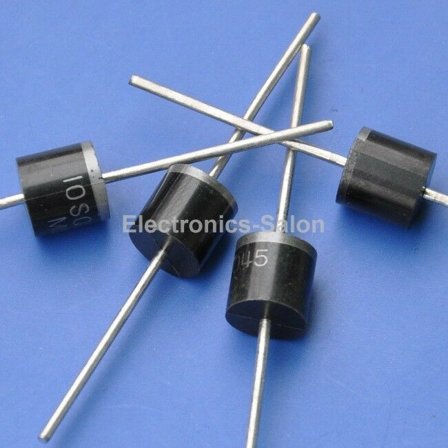 20pcs 10amp Bypass Blocking Diode For Diy Solar Cells