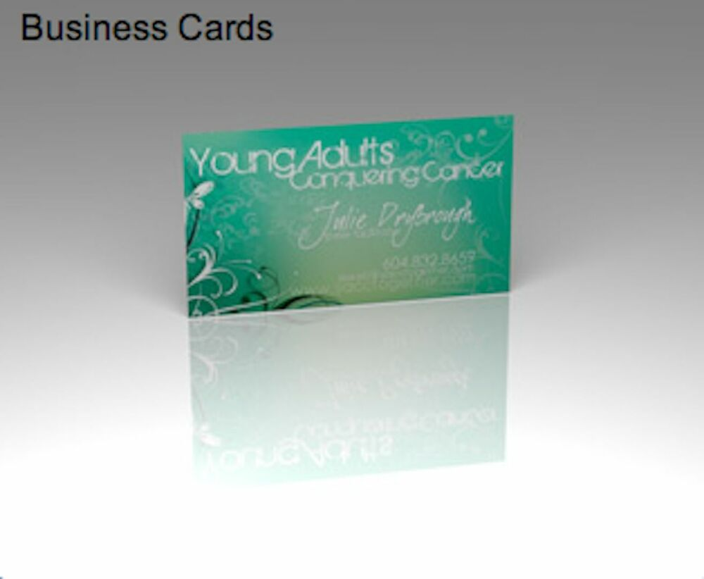 1000 full color business cards 14pt heavy stock uv coated for Business cards 1000