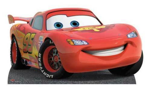 lightning mcqueen cars 2 disney pixar lifesize cardboard cutout standee standup 5051905385124 ebay. Black Bedroom Furniture Sets. Home Design Ideas
