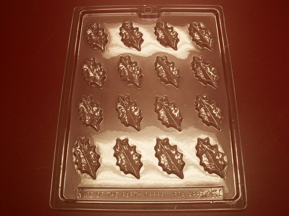 Small Oak Leaves Mold Make Chocolate Candy Cake
