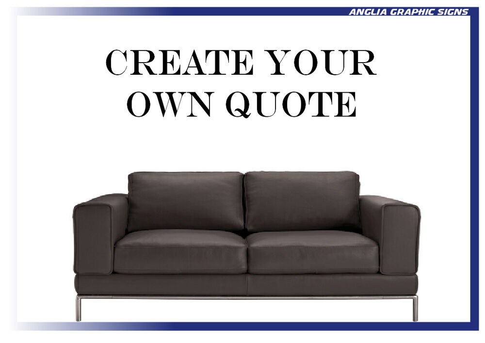 Create Your Own Wall Quote Vinyl Sticker, Wall Art, Decal