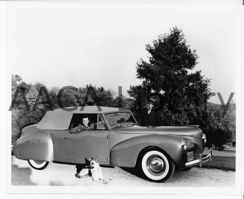 1940 lincoln continental convertible coupe factory photo ref 53286 ebay. Black Bedroom Furniture Sets. Home Design Ideas