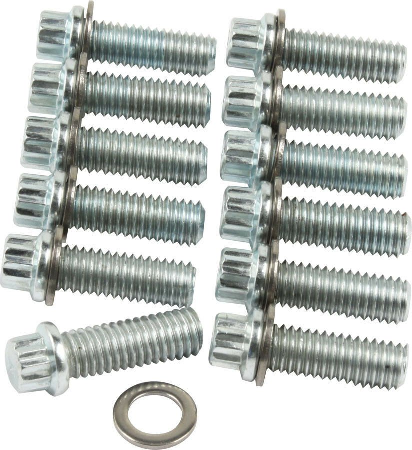 ENGINE INTAKE MANIFOLD BOLT LIT 12-PT-HEAD STEEL ZINC