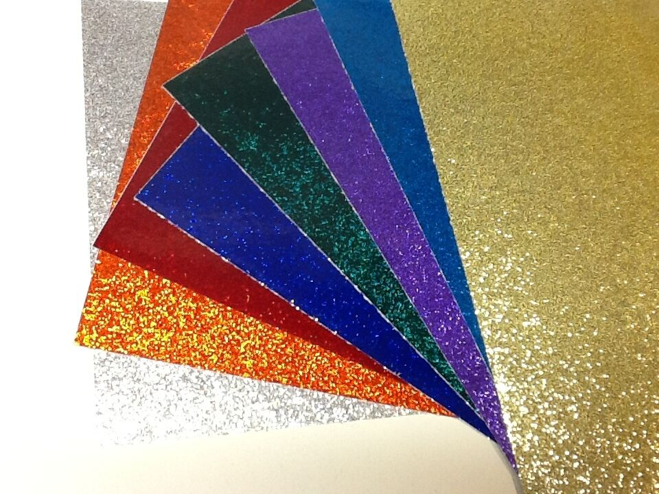 Glitter Flake Sign Vinyl 24 Inch X 10 Feet Self Adhesive