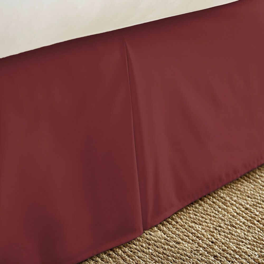 Becky cameron 1800 series luxury hotel quality bed skirt for Luxury hotel 660 collection bed skirt