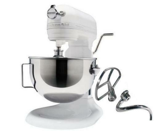 kitchenaid kg25h0xwh hd heavy duty stand mixer white large big 5 quart super ebay. Black Bedroom Furniture Sets. Home Design Ideas