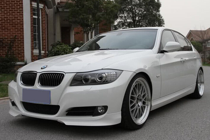 bmw e90 e91 lci front lip splitter valance spoiler ebay. Black Bedroom Furniture Sets. Home Design Ideas