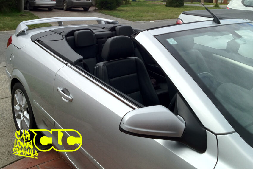 vauxhall astra h mk5 twintop boot spoiler ebay. Black Bedroom Furniture Sets. Home Design Ideas