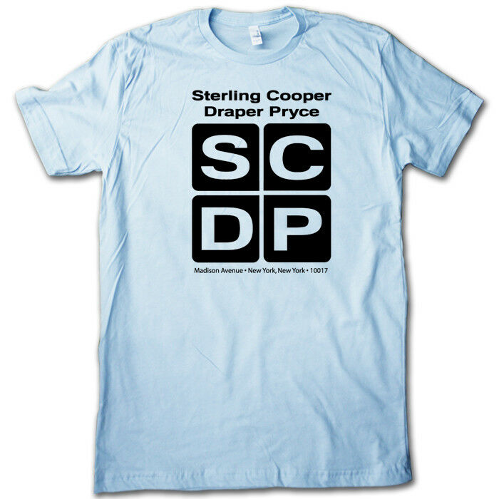 Sterling cooper vintage ad agency t shirt retro nyc for T shirt advertising business