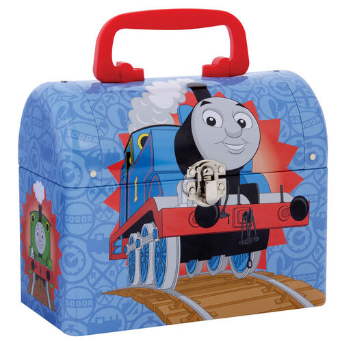 Thomas Domed Keepsake Lunch Box Carrying Case Train Thomas