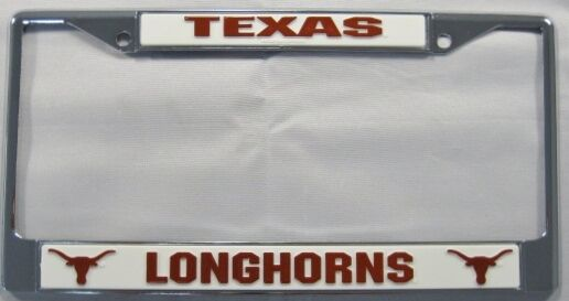 University Of Texas Longhorns Metal License Plate Frame Ut