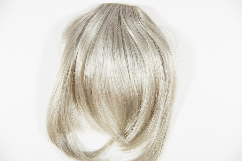 Platinum Light Cool Grey Blonde Blonde Medium Short