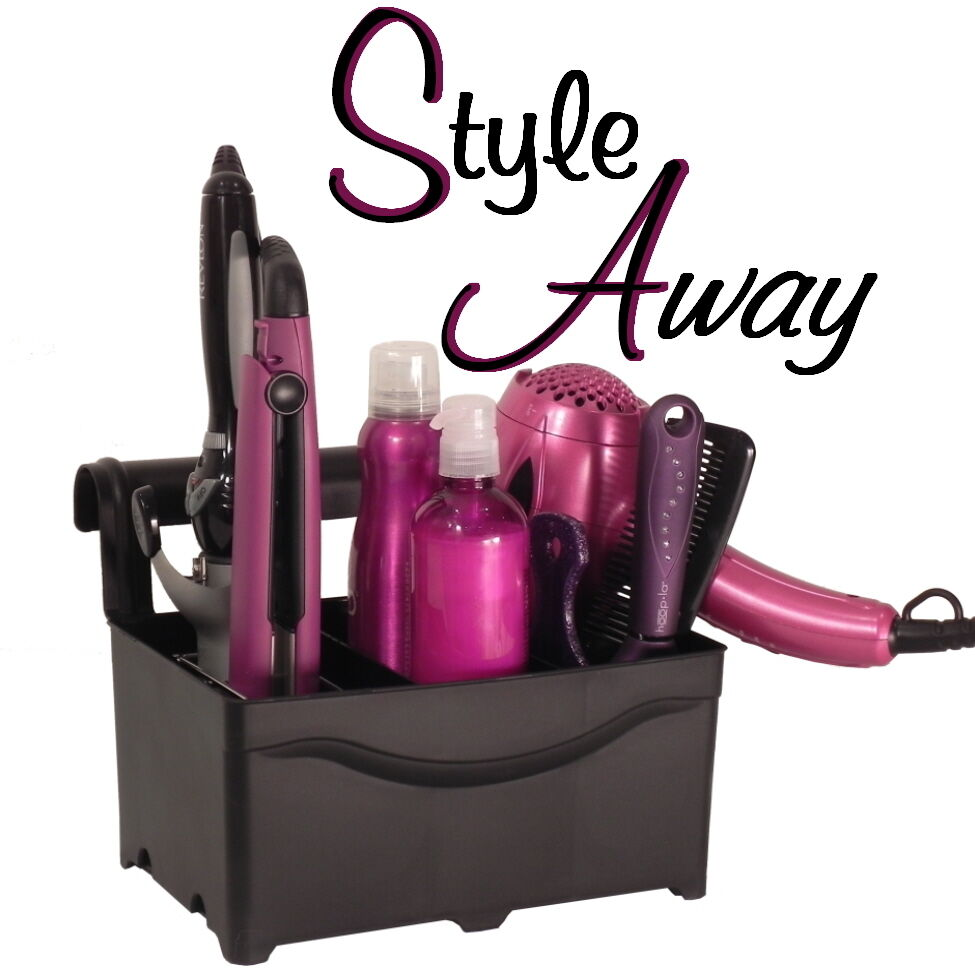 Hair Accessory Organizer Flat Iron Holder Curling Iron