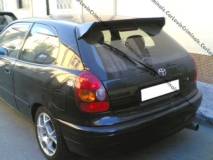 toyota corolla e11 sport spoiler ebay. Black Bedroom Furniture Sets. Home Design Ideas