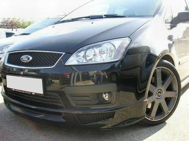 ford focus c max front bumper spoiler skirt valance ebay. Black Bedroom Furniture Sets. Home Design Ideas