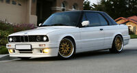 BMW E30 M-TEC M POWER FRONT BUMPER SPOILER / SKIRT