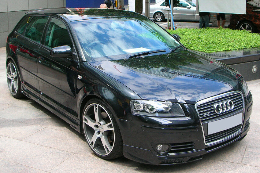 audi a3 8p sportback bas de caisse ebay. Black Bedroom Furniture Sets. Home Design Ideas