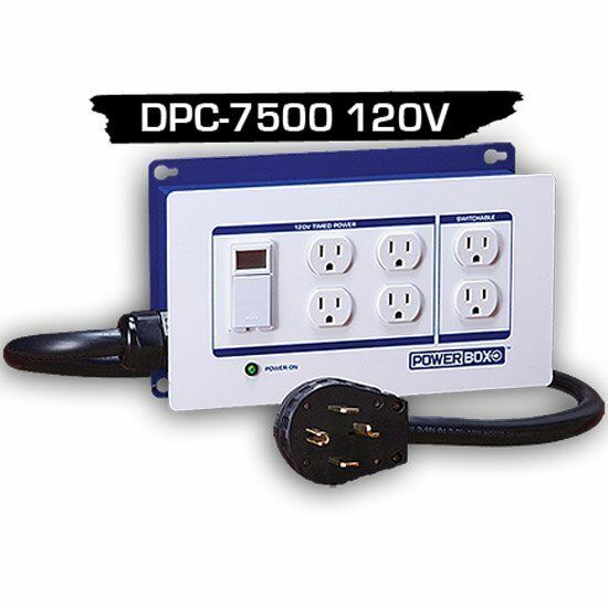 Light Controller With Timer: Powerbox DPC 7500 120v Lighting Controller