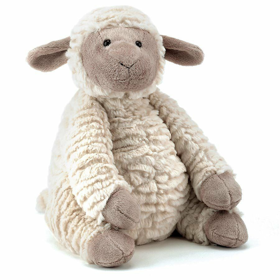 JELLYCAT Fuddles Lamb Baby Soft teddy bear toy Farm Animal ...