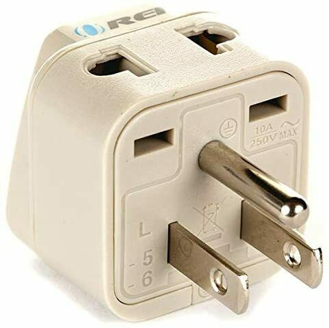 Uk Adapter Greece 2 To 1 1 4 Receiver Hitch Adapter Insert Sleeve S C Adapter 12v 2a Usb Adapter Jula: OREI 2 In 1 USA Travel Adapter Plug