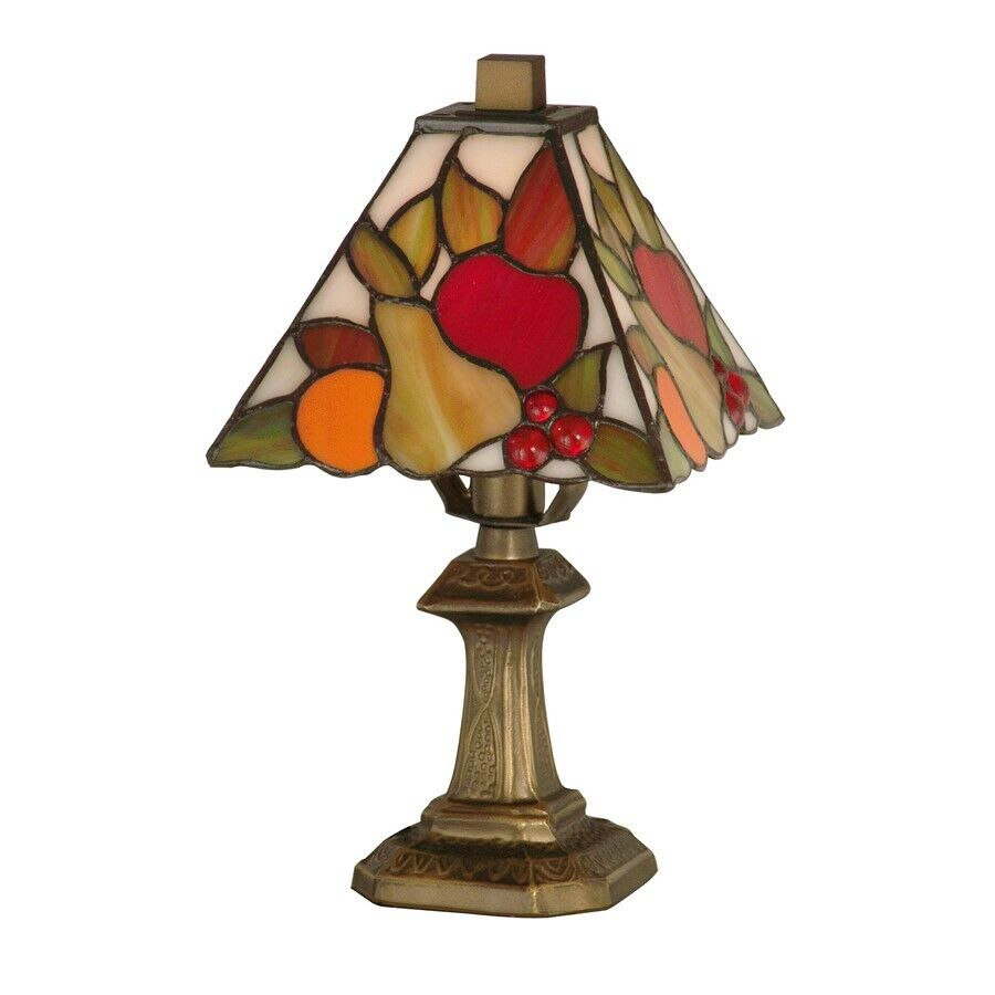 dale tiffany fruit mini table lamp ta100122 ebay. Black Bedroom Furniture Sets. Home Design Ideas