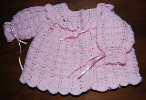 Baby Matinee Coat Crochet Pattern Gorgeous And Easy Ebay