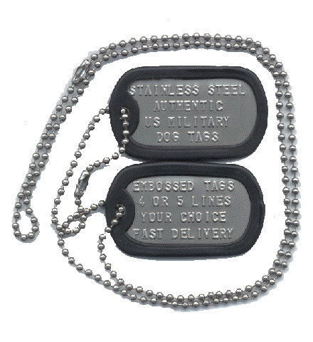 custom real us military dog tags medical id dogtags authentic high quality ebay. Black Bedroom Furniture Sets. Home Design Ideas
