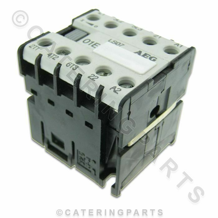 co02 aeg ls07 01e mini contactor relay 230v coil 3xn o 1xn c rated 16 amp 16a ebay. Black Bedroom Furniture Sets. Home Design Ideas