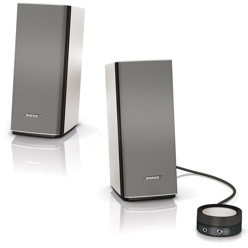 bose companion 20 computer speaker system new 17817548014 ebay. Black Bedroom Furniture Sets. Home Design Ideas