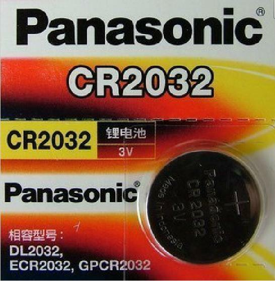 brand new panasonic cr2032 3v lithium battery in original. Black Bedroom Furniture Sets. Home Design Ideas