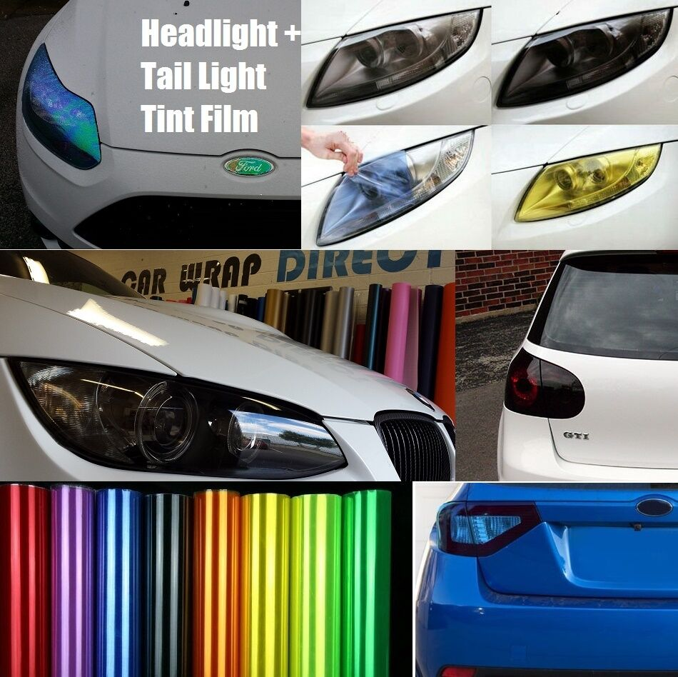Headlight Tail Light Tinting Vinyl Film Smoked Jdm
