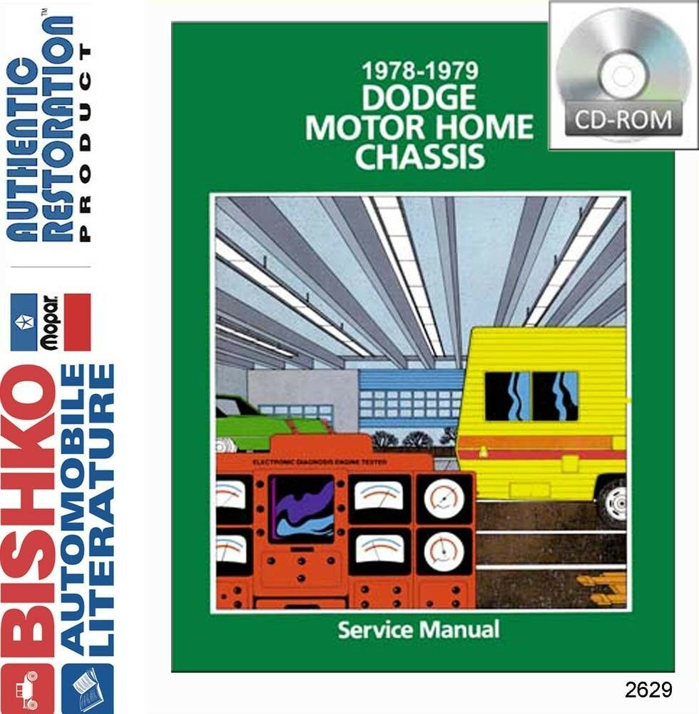 1978 dodge Motorhome Manual