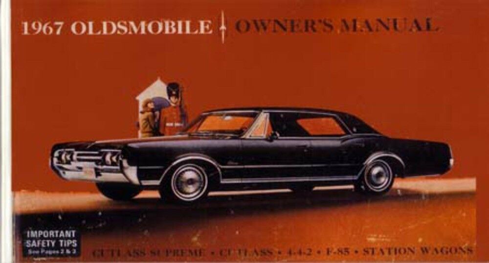 1967 oldsmobile 442 cutlass f 85 owners manual guide for 85 cutlass salon