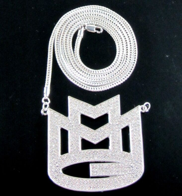 Iced Out Rick Ross Mmg Maybach Music Group Pendant Amp 36