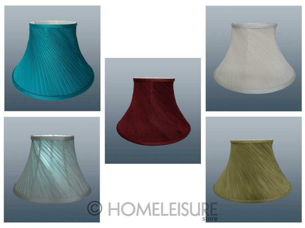 Twisted Pleat Fabric Table Lamp Shade Ceiling Light