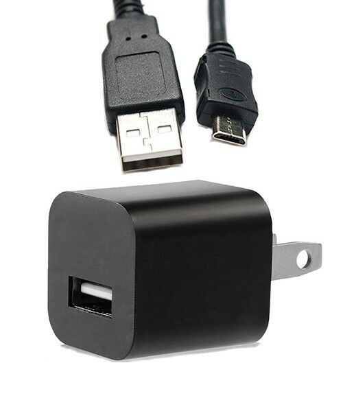 Wall Charger Ac Adapter Usb Cable For Panasonic Lumix